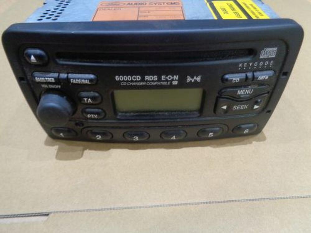 cd radio 6000 rds mit code autoradio cd player ford mondeo. Black Bedroom Furniture Sets. Home Design Ideas