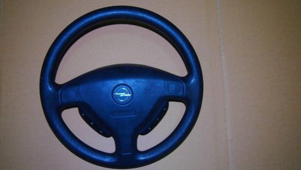 lenkrad mit airbag opel astra g caravan f35 1 6 16v ebay. Black Bedroom Furniture Sets. Home Design Ideas